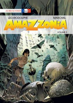 Copertina AUREACOMIX LINEA BD n.52 - AMAZZONIA 3, EDITORIALE AUREA