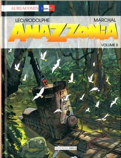 Copertina AUREACOMIX LINEA BD n.69 - AMAZZONIA 5, EDITORIALE AUREA