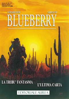 Copertina BLUEBERRY n.11 - BLUEBERRY, EDITORIALE AUREA