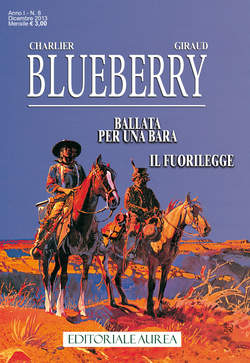 Copertina BLUEBERRY n.8 - BLUEBERRY, EDITORIALE AUREA