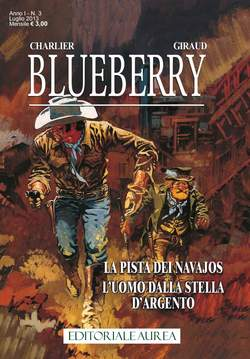 Copertina BLUEBERRY n.3 - BLUEBERRY             3, EDITORIALE AUREA