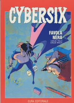 Copertina CYBERSIX n.11 - FAVOLA NERA, EDITORIALE AUREA
