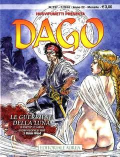Copertina DAGO n.237 - LE GUERRIERE DELLA LUNA, EDITORIALE AUREA