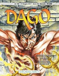 Copertina DAGO n.248 - L'UNICORNO D'ORO, EDITORIALE AUREA