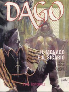 Copertina DAGO ANNO 03 n.3 - IL MONACO E IL SICARIO, EDITORIALE AUREA
