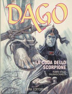 Copertina DAGO ANNO 03 n.1 - LA CODA DELLO SCORPIONE, EDITORIALE AUREA