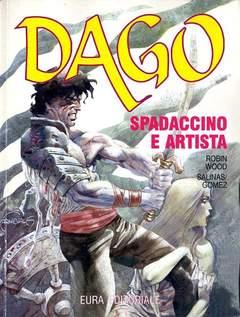 Copertina DAGO ANNO 03 n.5 - SPADACCINO E ARTISTA, EDITORIALE AUREA