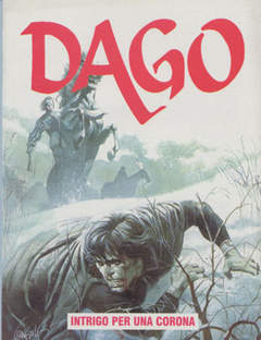 Copertina DAGO ANNO 04 n.8 - INTRIGO PER UNA CORONA, EDITORIALE AUREA