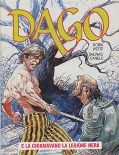 Copertina DAGO ANNO 04 n.3 - LA CHIAMAVANO LA LEGIONE NERA, EDITORIALE AUREA