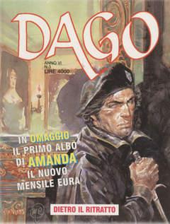 Copertina DAGO ANNO 06 n.3 - DIETRO IL RITRATTO, EDITORIALE AUREA