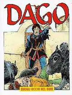 Copertina DAGO ANNO 07 n.11 - QUEGLI OCCHI NEL BUIO, EDITORIALE AUREA