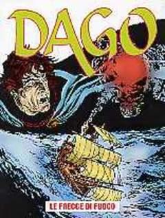 Copertina DAGO ANNO 07 n.1 - Le frecce di fuoco, EDITORIALE AUREA