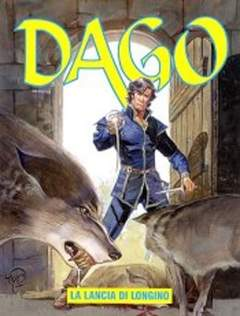 Copertina DAGO ANNO 08 n.9 - LA LANCIA DI LONGINO, EDITORIALE AUREA