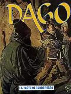 Copertina DAGO ANNO 08 n.7 - LA TESTA DI BARBAROSSA, EDITORIALE AUREA