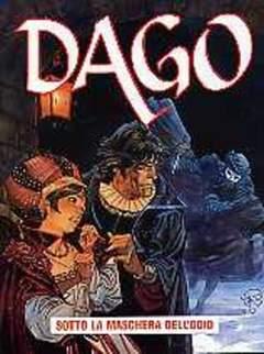 Copertina DAGO ANNO 08 n.5 - SOTTO LA MASCHERA DELL'ODIO, EDITORIALE AUREA