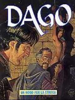 Copertina DAGO ANNO 08 n.8 - UN ROGO PER LA STREGA, EDITORIALE AUREA