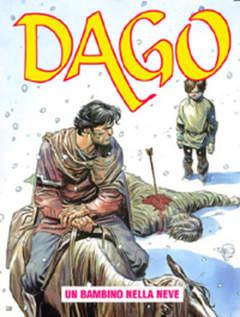 Copertina DAGO ANNO 09 n.11 - UN BAMBINO NELLA NEVE, EDITORIALE AUREA