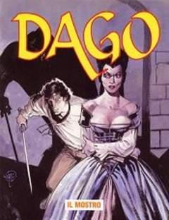 Copertina DAGO ANNO 09 n.8 - IL MOSTRO, EDITORIALE AUREA