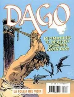 Copertina DAGO ANNO 10 n.8 - LA FOLLIA DEL VISIR, EDITORIALE AUREA