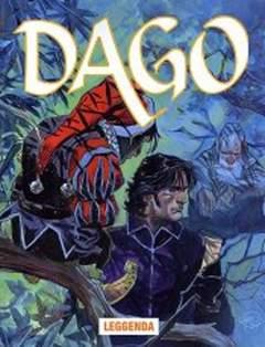Copertina DAGO ANNO 11 n.8 - LEGGENDA, EDITORIALE AUREA