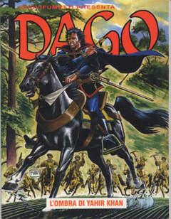 Copertina DAGO ANNO 13 n.9 - L'OMBRA DI YAHIR KHAN, EDITORIALE AUREA