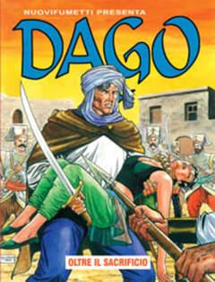 Copertina DAGO ANNO 13 n.7 - OLTRE IL SACRIFICIO, EDITORIALE AUREA