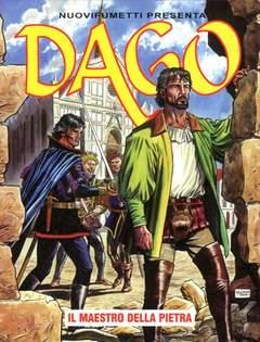 Copertina DAGO ANNO 15 n.6 - IL MAESTRO DELLA PIETRA, EDITORIALE AUREA
