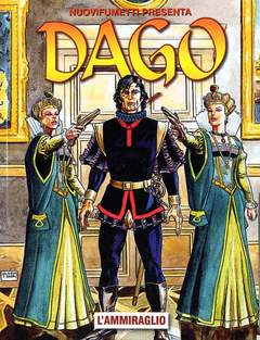 Copertina DAGO ANNO 16 n.11 - L'AMMIRAGLIO, EDITORIALE AUREA