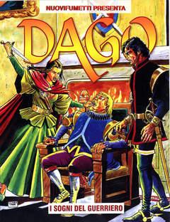 Copertina DAGO ANNO 16 n.5 - I SOGNI DEL GUERRIERO, EDITORIALE AUREA