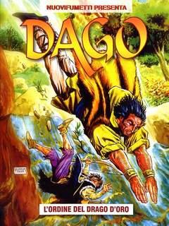 Copertina DAGO ANNO 16 n.2 - L'ORDINE DEL DRAGO D'ORO, EDITORIALE AUREA