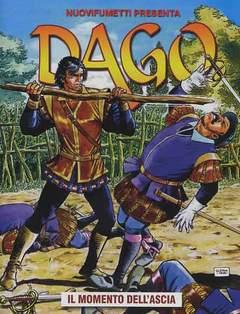 Copertina DAGO ANNO 17 n.12 - IL MOMENTO DELL' ASCIA, EDITORIALE AUREA
