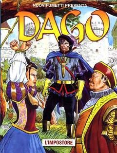 Copertina DAGO ANNO 17 n.5 - L'IMPOSTORE, EDITORIALE AUREA