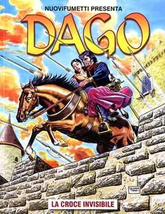 Copertina DAGO ANNO 17 n.3 - LA CROCE INVISIBILE, EDITORIALE AUREA