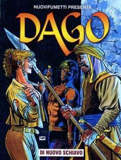 Copertina DAGO ANNO 17 n.8 - UN NUOVO SCHIAVO, EDITORIALE AUREA