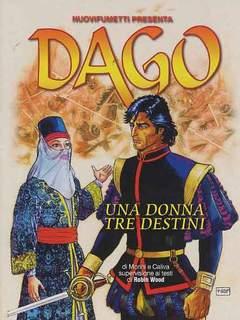 Copertina DAGO ANNO 18 n.11 - UNA DONNA, TRE DESTINI, EDITORIALE AUREA