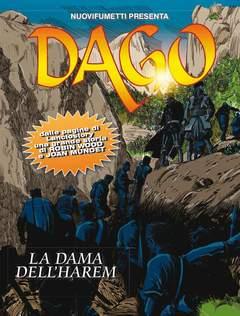 Copertina DAGO ANNO 18 n.12 - LA DAMA DELL'HAREM, EDITORIALE AUREA