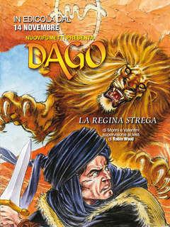 Copertina DAGO ANNO 20 n.11 - LA REGINA STREGA, EDITORIALE AUREA
