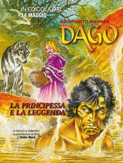 Copertina DAGO ANNO 20 n.5 - LA PRINCIPESSA E LA LEGGENDA, EDITORIALE AUREA
