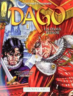 Copertina DAGO ANNO 21 n.10 - LA DAMA ELINOR, EDITORIALE AUREA