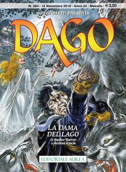Copertina DAGO ANNO 22 in poi n.264 - LA DAMA DEL LAGO, EDITORIALE AUREA