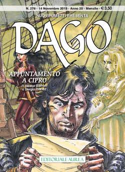 Copertina DAGO ANNO 22 in poi n.276 - APPUNTAMENTO A CIPRO, EDITORIALE AUREA
