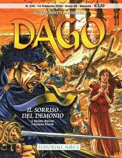 Copertina DAGO ANNO 22 in poi n.279 - IL SORRISO DEL DEMONIO, EDITORIALE AUREA