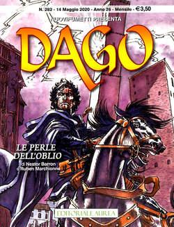 Copertina DAGO ANNO 22 in poi n.282 - LE PERLE DELL'OBLIO, EDITORIALE AUREA