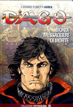 Copertina DAGO COLLEZIONE TUTTOCOLORE n.20 - BIONDI MESSAGGERI DI MORTE, EDITORIALE AUREA