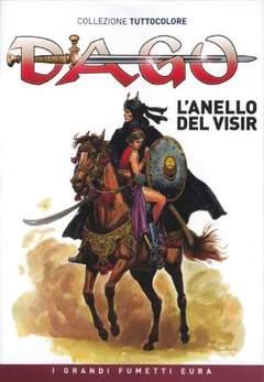 Copertina DAGO COLLEZIONE TUTTOCOLORE n.5 - L'anello del Visir, EDITORIALE AUREA