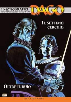 Copertina DAGO I MONOGRAFICI n.62 - IL SETTIMO CERCHIO/OLTRE IL BUIO, EDITORIALE AUREA