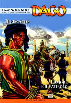 Copertina DAGO I MONOGRAFICI n.68 - IL RISCATTO - L'AMORE E IL PATIBOLO, EDITORIALE AUREA