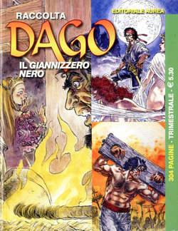 Copertina DAGO RACCOLTA n.79 - ANNO XXI N. 1 (236/238), EDITORIALE AUREA