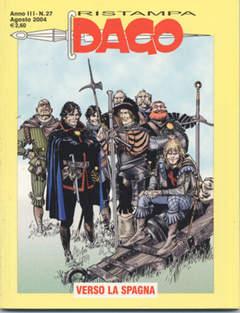 Copertina DAGO RISTAMPA n.27 - Verso la Spagna, EDITORIALE AUREA