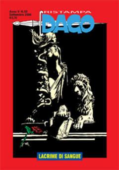 Copertina DAGO RISTAMPA n.52 - Lacrime di sangue, EDITORIALE AUREA